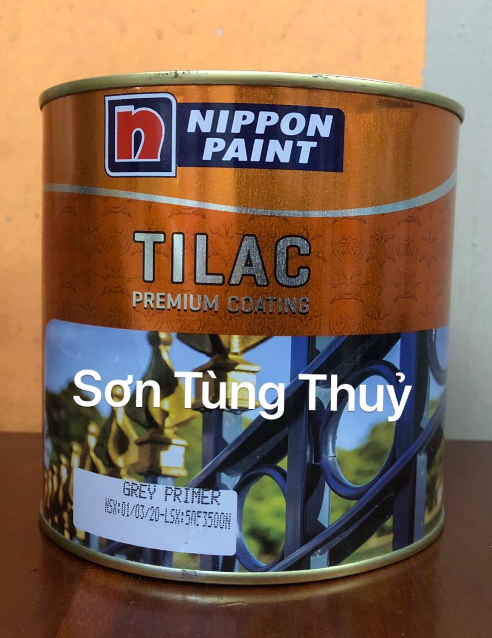 Sơn lót chống gỉ màu ghi Tilac Grey Primer