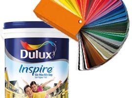 Bảng màu sơn Dulux Inspire ngoại thất