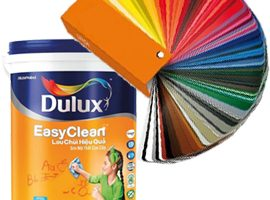 Bảng màu Dulux lau chùi hiệu quả