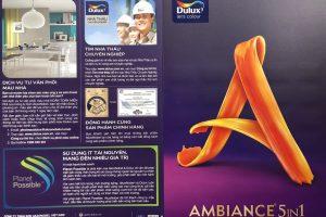 Bảng màu Dulux Ambiance 5 trong 1