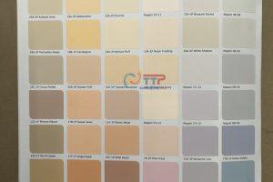 Bảng màu sơn Nippon trong nhà và ngoài trời