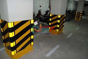 Đặc tính nổi bật của mẫu sơn kẻ vạch tầng hầm chung cư