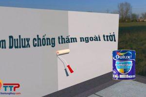 Sơn Dulux chống thấm ngoài trời có sử dụng sơn lót không?